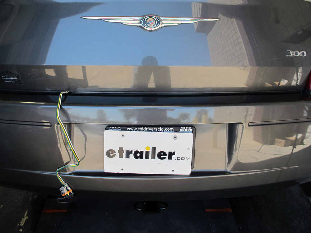 Trailer Wiring Harness Chrysler 300 : Chrysler t one vehicle wiring harness with pole