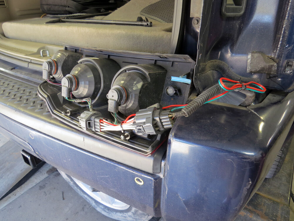 Wiring Harness For Jeep Commander : Trailer hitch wiring harness jeep commander
