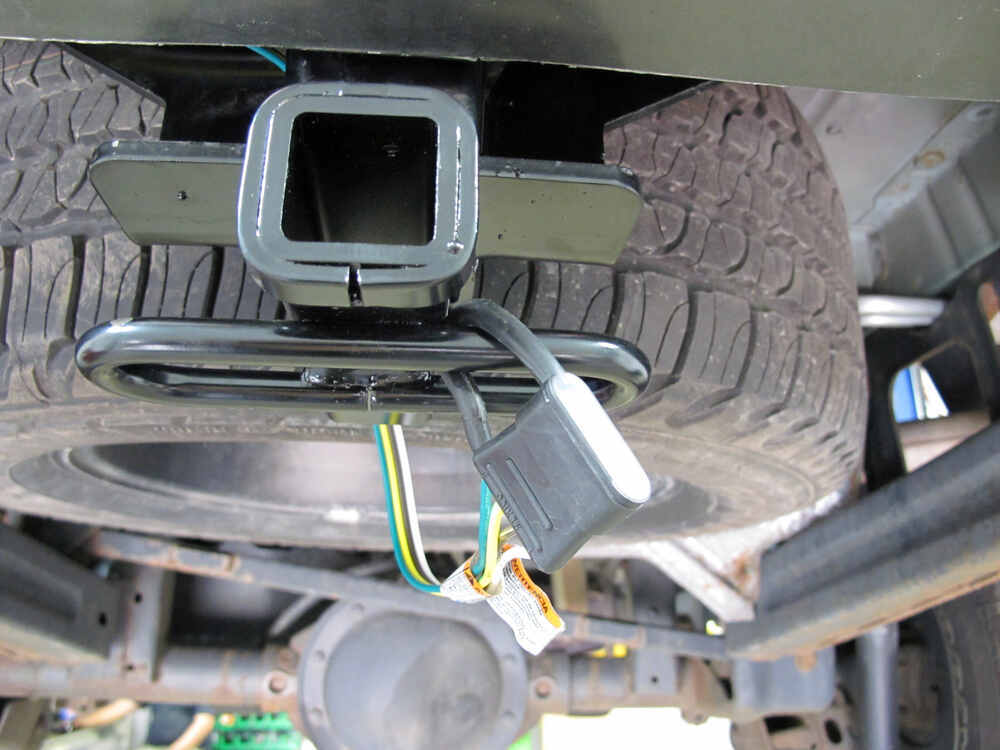 2007 jeep commander hitch and wiring harness t-one vehicle wiring harness with 4-pole flat trailer ... #15