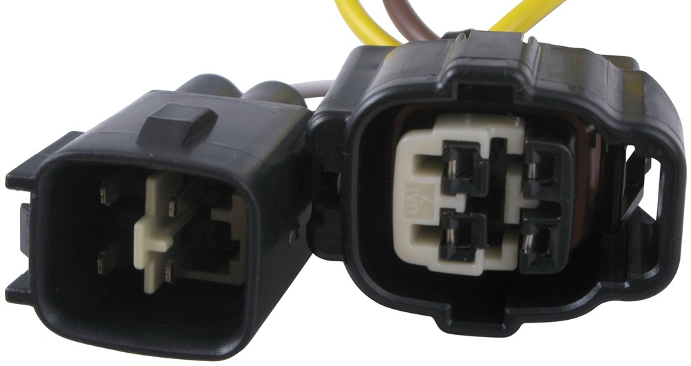 1999 jeep wrangler t one vehicle wiring harness with 4 pole flat trailer connector. Black Bedroom Furniture Sets. Home Design Ideas
