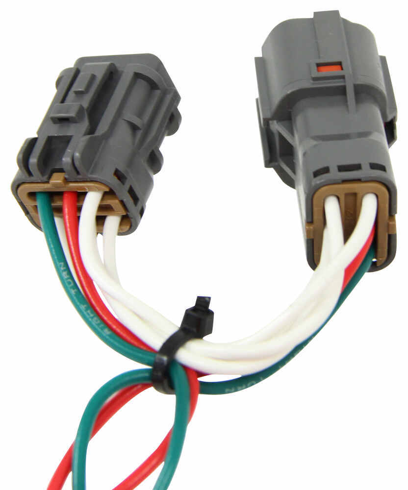 T One Vehicle Wiring Harness With 4 Pole Flat Trailer Connector To 7 End Tow Ready 30717 Tekonsha Custom Fit 118410