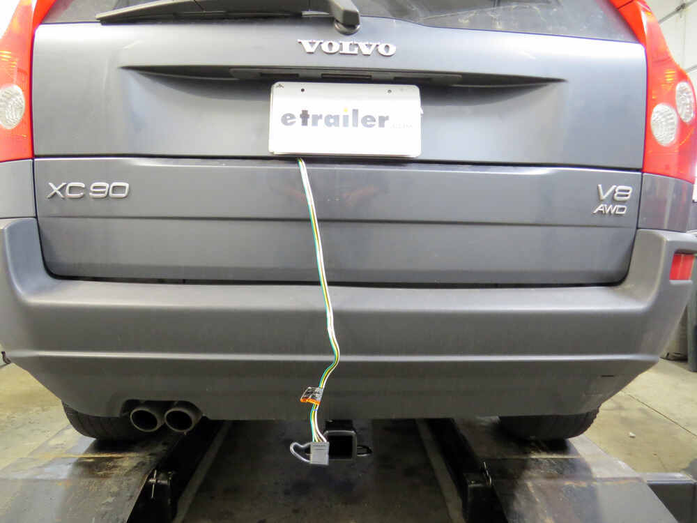 Volvo xc t one vehicle wiring harness with pole