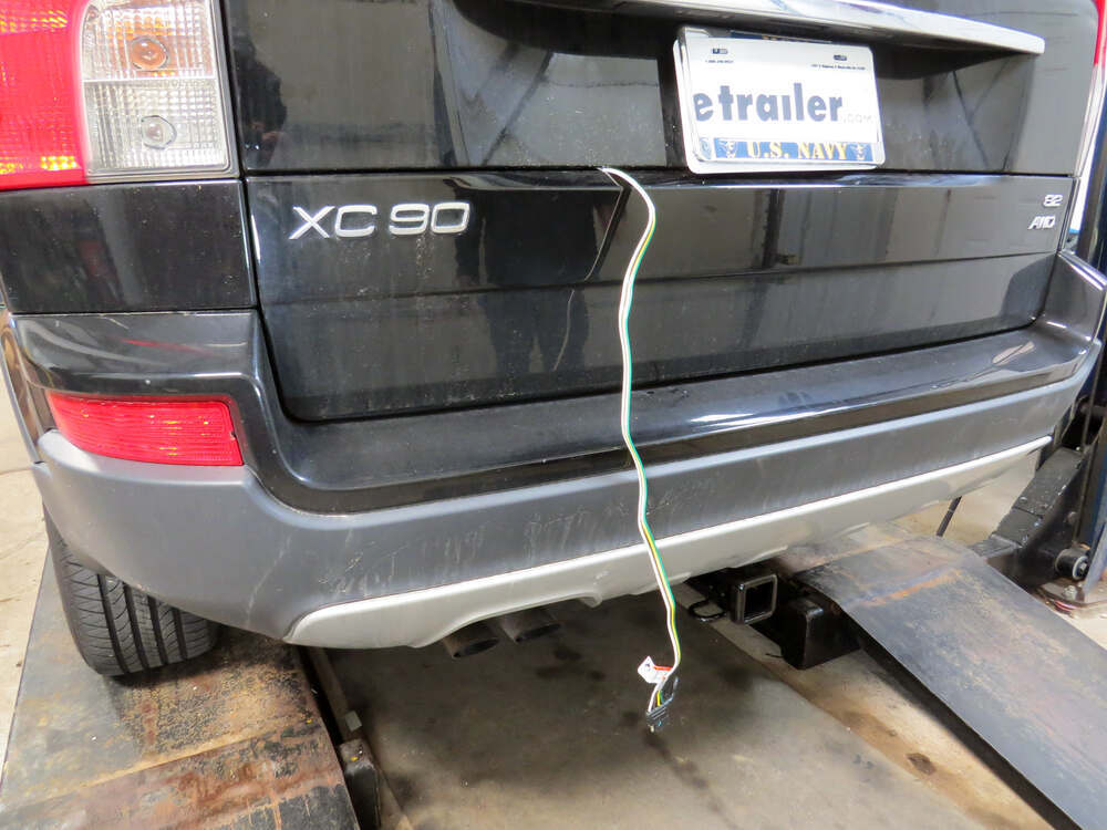 how to install a trailer wiring harness on a volvo xc90