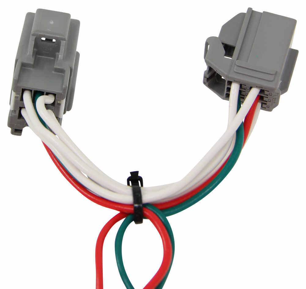 T One Vehicle Wiring Harness With 4 Pole Flat Trailer Connector To 7 End Tow Ready 30717 Tekonsha Custom Fit 118411