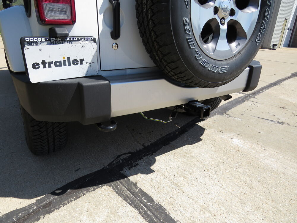 Jeep Wrangler Unlimited on Land Rover Trailer Hitch Wiring