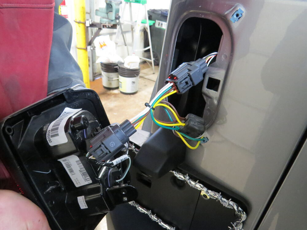 How To Install A Trailer Wiring Harness On 2000 Jeep Wrangler