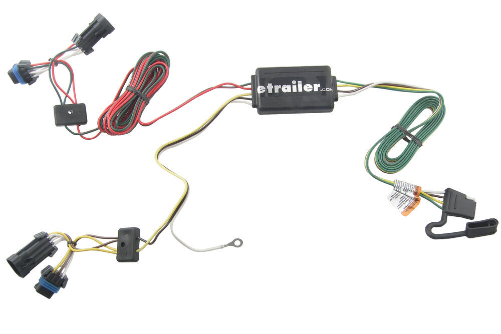 Trailer Wiring Harness Saturn Vue : Saturn vue custom fit vehicle wiring tekonsha