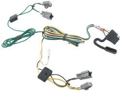 2007 buick lucerne trailer wiring etrailer com t one vehicle wiring harness 4 pole flat trailer connector