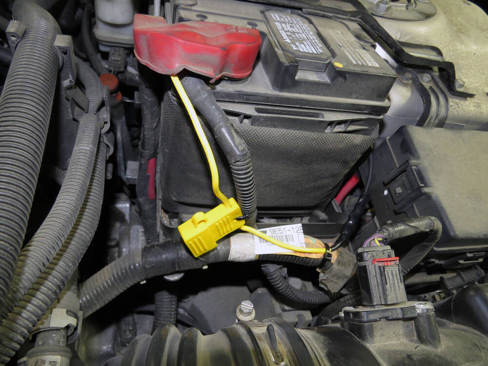Ford Fusion on 2009 Ford Escape Trailer Hitch Wiring Harness