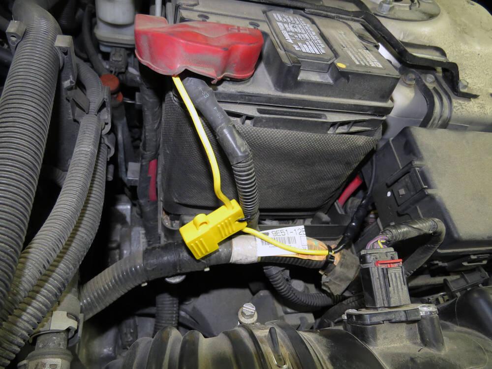 2012 ford fusion Custom Fit Vehicle Wiring Tekonsha