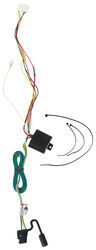 T-One Vehicle Wiring Harness with 4-Pole Flat Trailer Connector