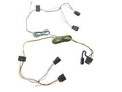 trailer wiring harness installation 2008 jeep grand cherokee video 2000 jeep cherokee wiring harness t one vehicle wiring harness with 4 pole flat trailer connector