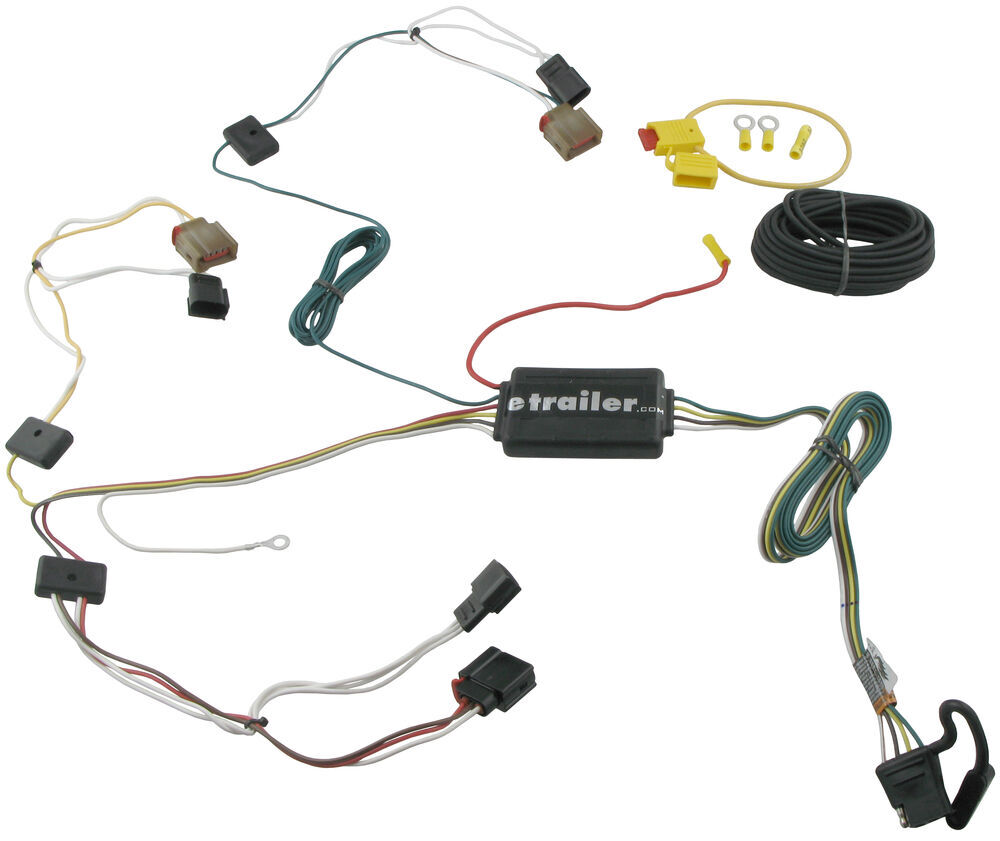 2007 jeep patriot t one vehicle wiring harness with 4 pole