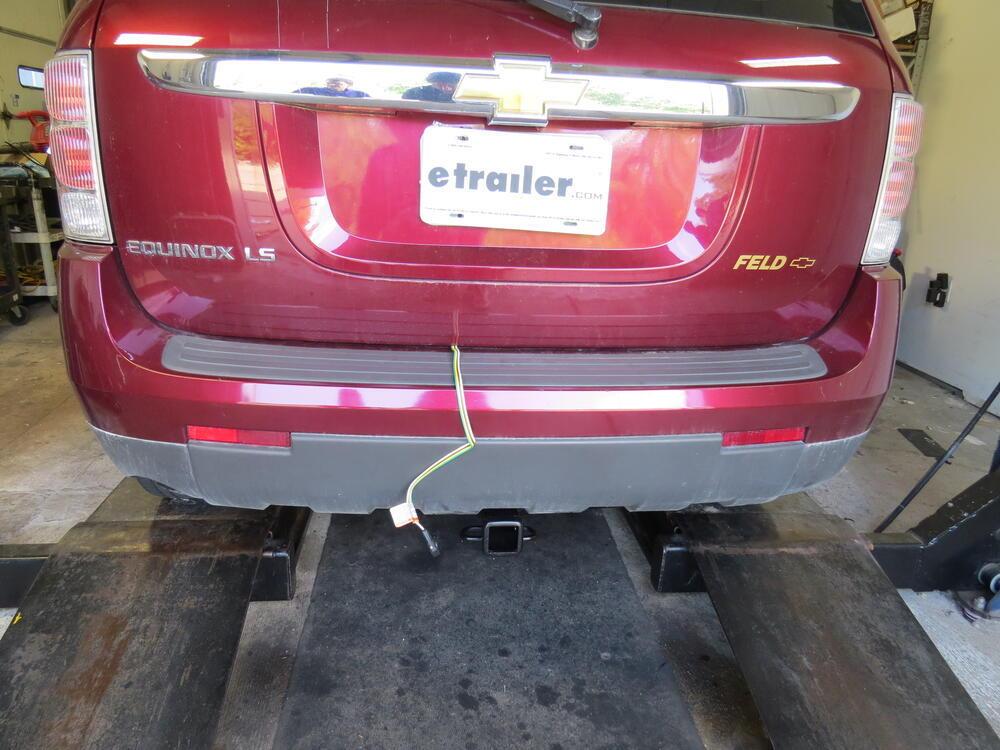 Trailer Wiring Harness For 2008 Equinox : Chevrolet equinox custom fit vehicle wiring tekonsha