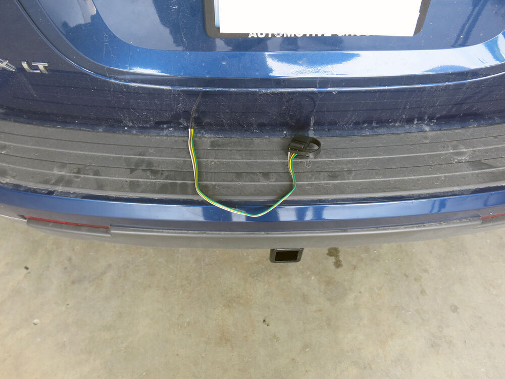 Trailer Wiring Harness For 2008 Equinox : T one vehicle wiring harness with pole flat trailer