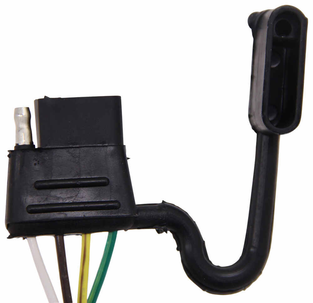 T One Vehicle Wiring Harness With 4 Pole Flat Trailer Connector To 7 End Tow Ready 30717 Tekonsha Custom Fit 118432