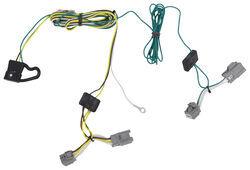 trailer wiring harness installation 2008 ford taurus x video kia sportage wiring harness t one vehicle wiring harness with 4 pole flat trailer connector