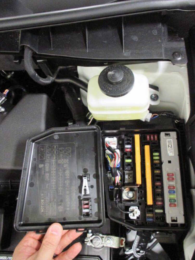 Trailer wiring harness for toyota venza