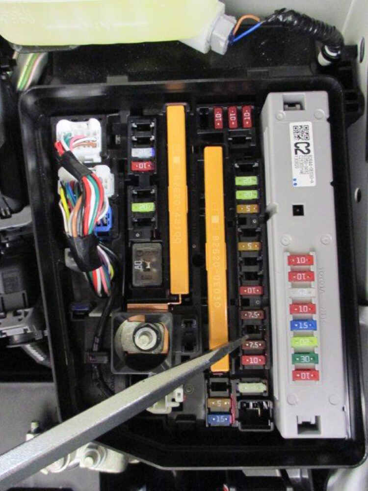 2014 toyota highlander trailer wiring harness 2014 toyota highlander t-one vehicle wiring harness with 4 ...