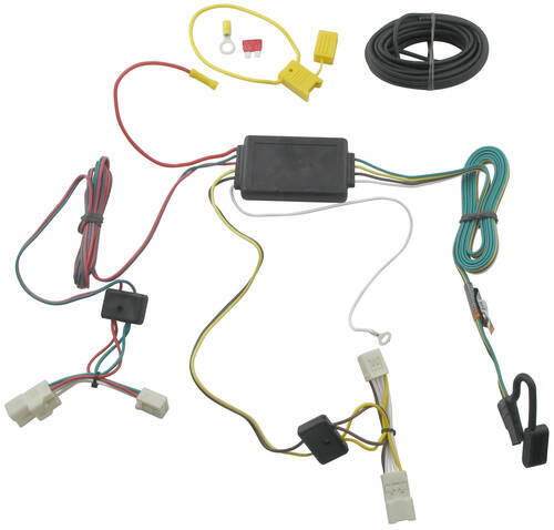 t one vehicle wiring harness with 4 pole flat trailer connector pontiac vibe trailer hitch wiring pontiac vibe trailer wiring