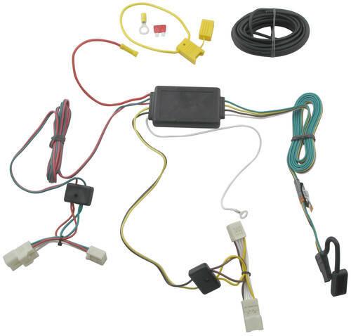 trailer wiring harness installation 2009 toyota matrix video rh etrailer com Toyota 4 Pin Trailer Wiring toyota matrix trailer hitch wiring harness