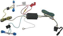 trailer wiring harness installation 2012 cadillac cts video t one vehicle wiring harness 4 pole flat trailer connector