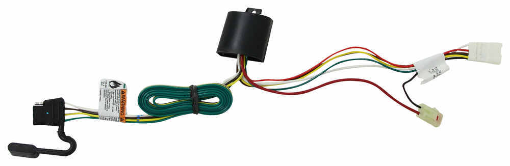 T-One Vehicle Wiring Harness with 4-Pole Flat Trailer Connector Powered Converter 118467