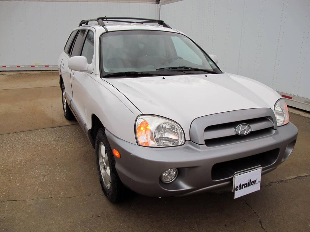 2004 Hyundai Santa Fe Custom Fit Vehicle Wiring - Tekonsha