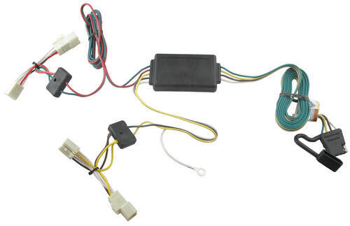 t one vehicle wiring harness with 4 pole flat trailer connector rh etrailer com t-one vehicle wiring harness with 4-pole flat trailer K5 Blazer Wiring Harness