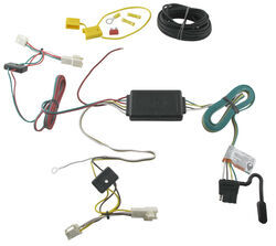 trailer wiring harness installation 2011 toyota camry hybrid video Toyota Wire Harness Repair Kit t one vehicle wiring harness with 4 pole flat trailer connector