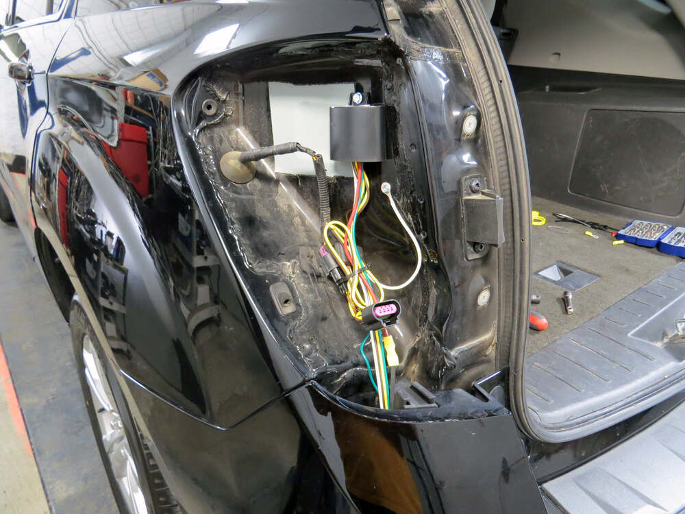 Trailer Wiring Harness 2012 Equinox : T one vehicle wiring harness with pole flat trailer