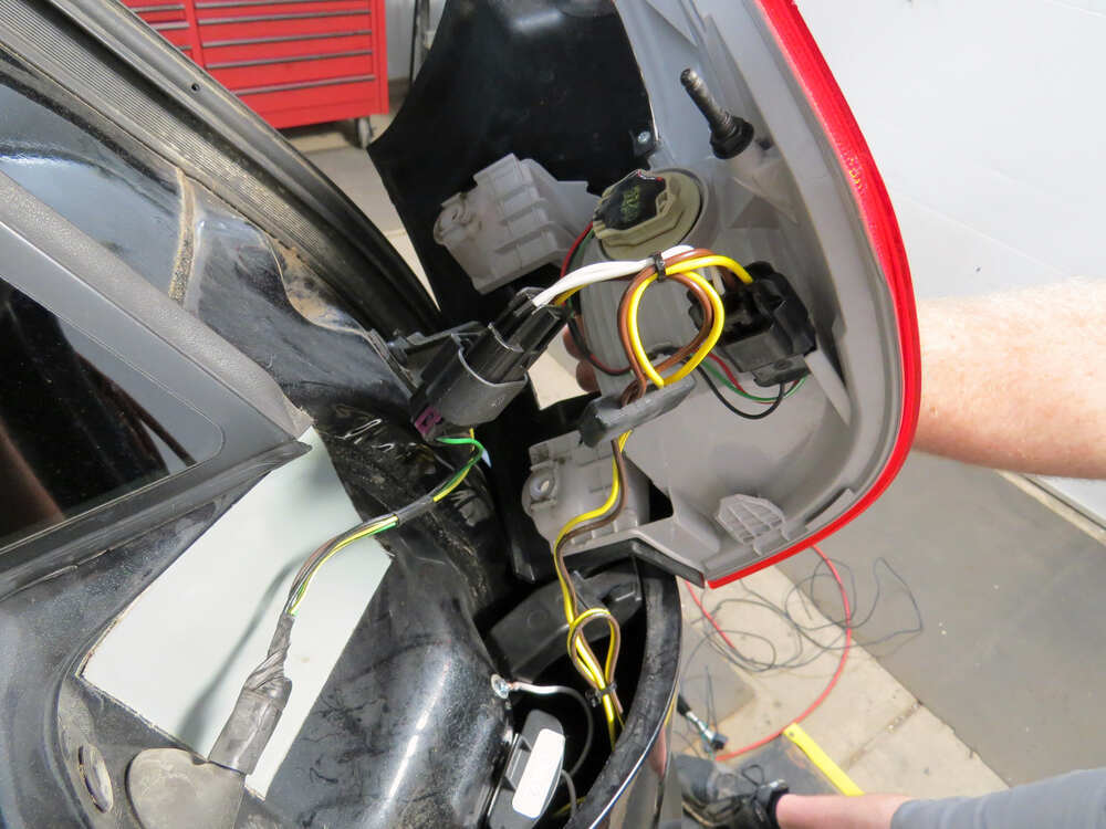 Trailer Wiring Harness For 2013 Gmc Terrain : Gmc terrain t one vehicle wiring harness with pole