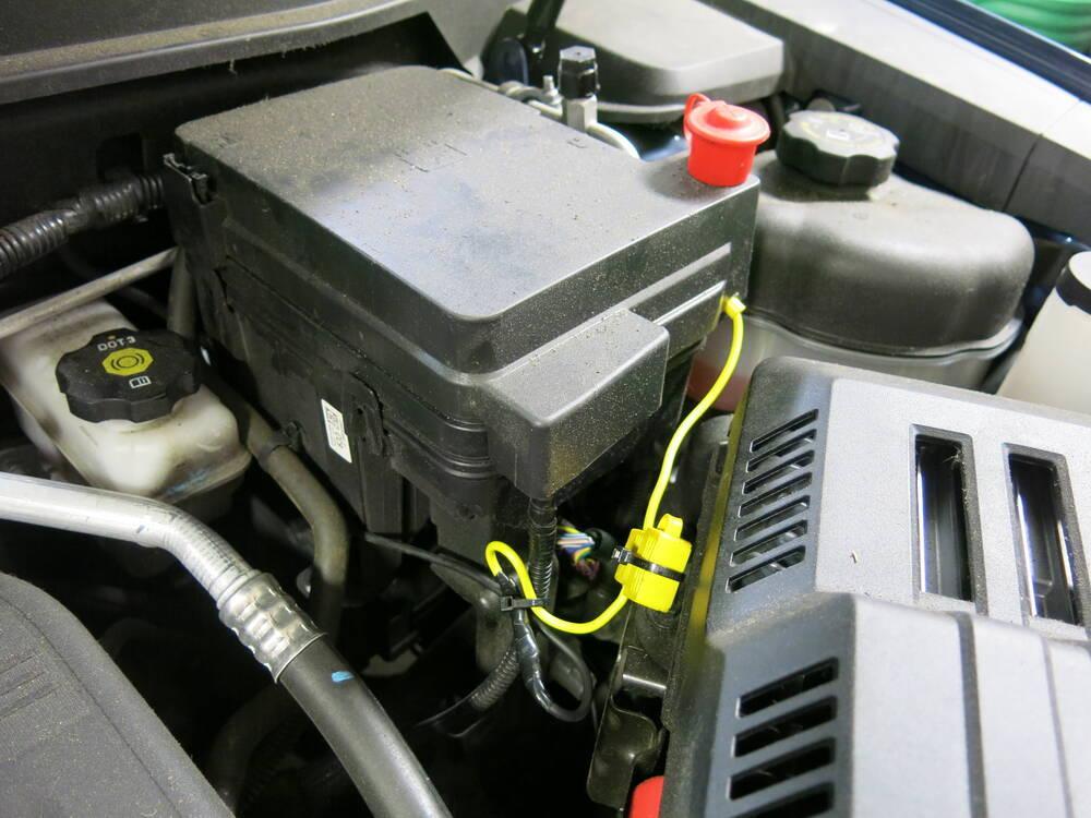2010 chevrolet equinox custom fit vehicle wiring tekonsha