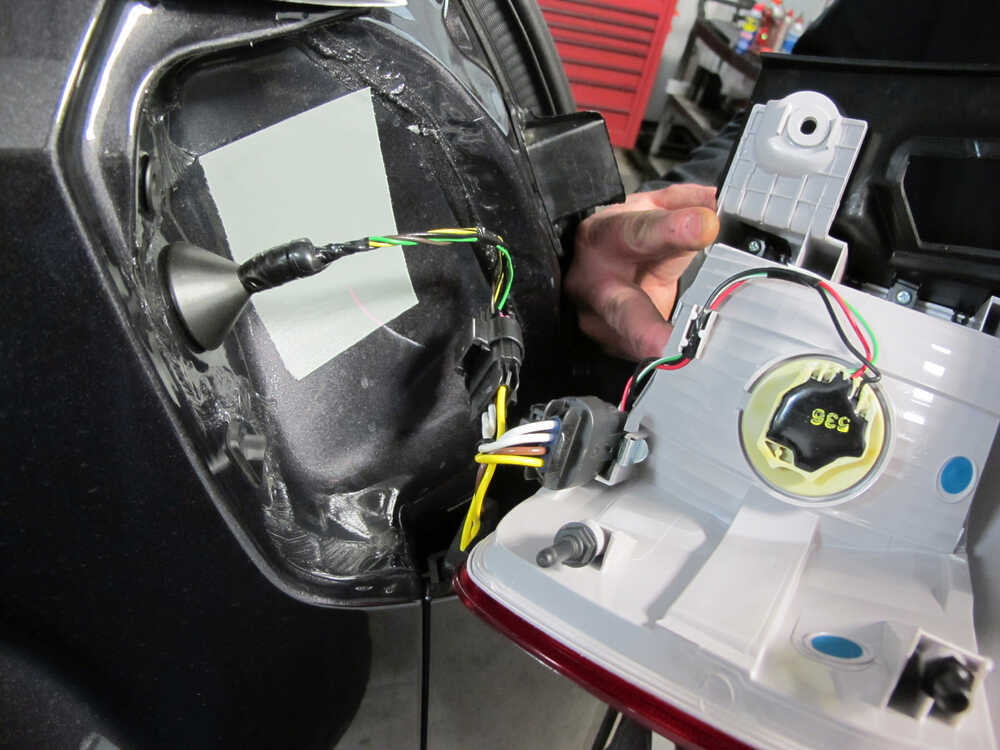 installation of a trailer wiring harness on 2008 trailer wiring harness buick gmc terrain custom fit vehicle wiring - tekonsha