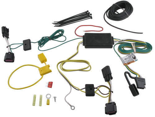 118494_500 t one vehicle wiring harness with 4 pole flat trailer connector curt wiring harness 56104 at bayanpartner.co