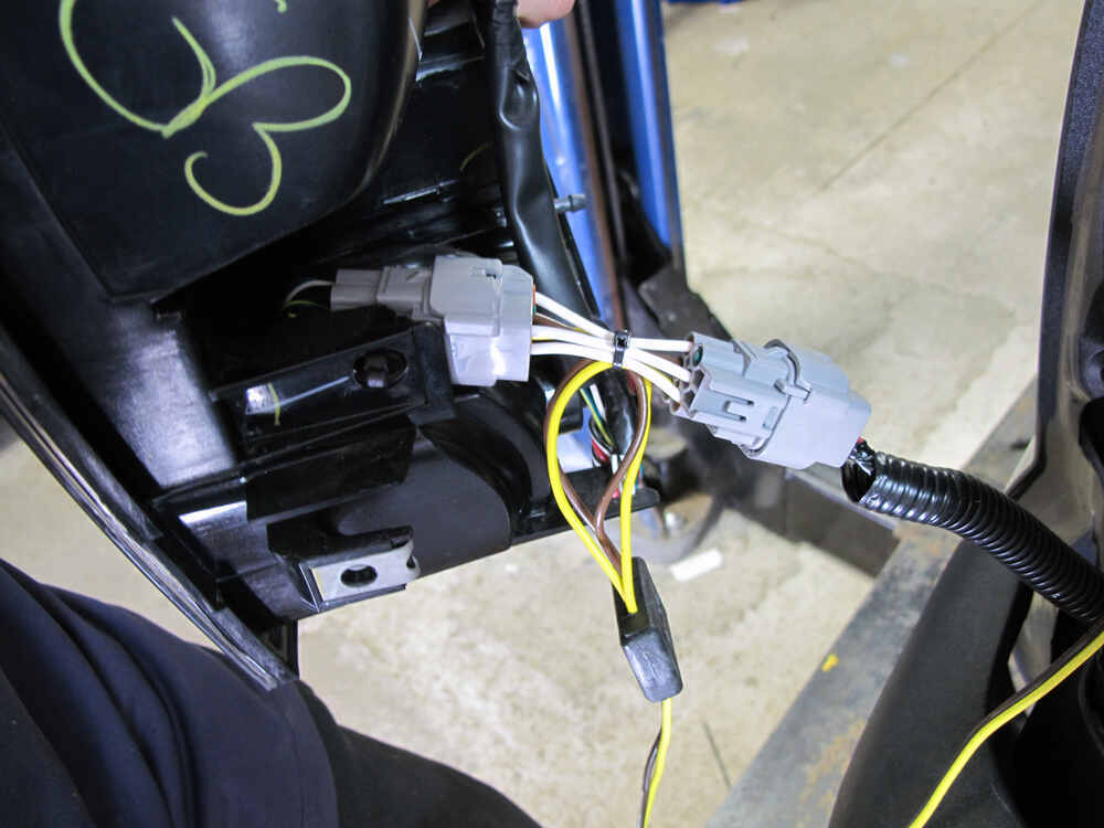 Trailer Wiring Harness For 2004 Toyota Tacoma : Toyota tacoma t one vehicle wiring harness with