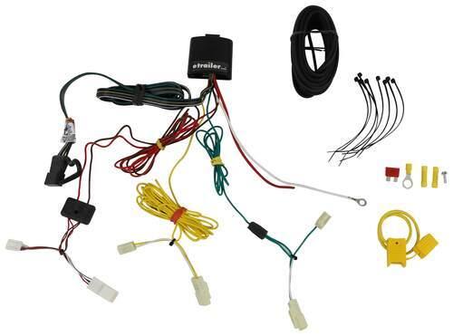 Toyota Sienna Trailer Wiring Harness On 4 Wire Flat Trailer Wiring