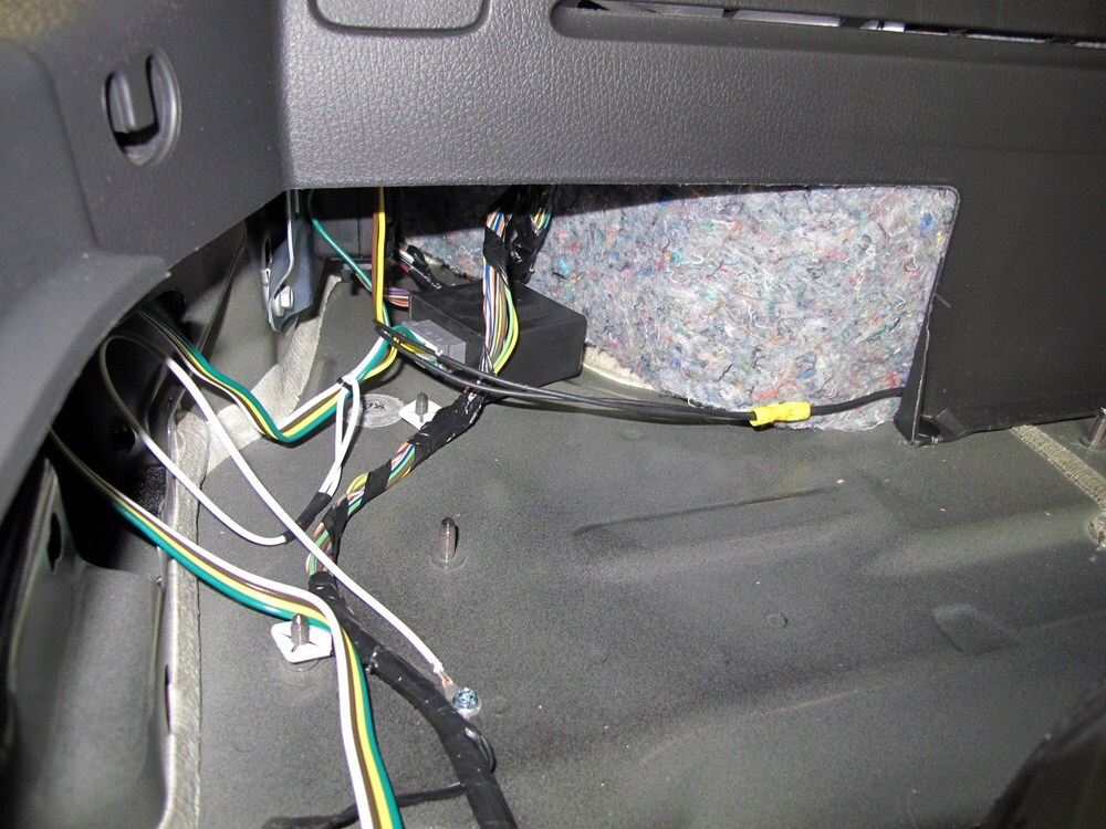 lincoln mkx trailer wiring harness installation timing