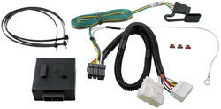 trailer wiring harness recommendation for a honda odyssey t one vehicle wiring harness 4 pole flat trailer connector