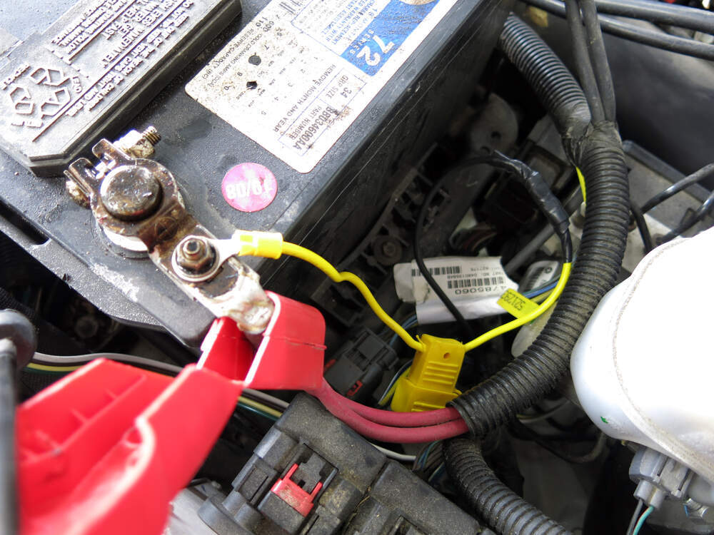 Trailer Wiring Harness Installation 2004 Jeep Liberty : Jeep liberty custom fit vehicle wiring tekonsha