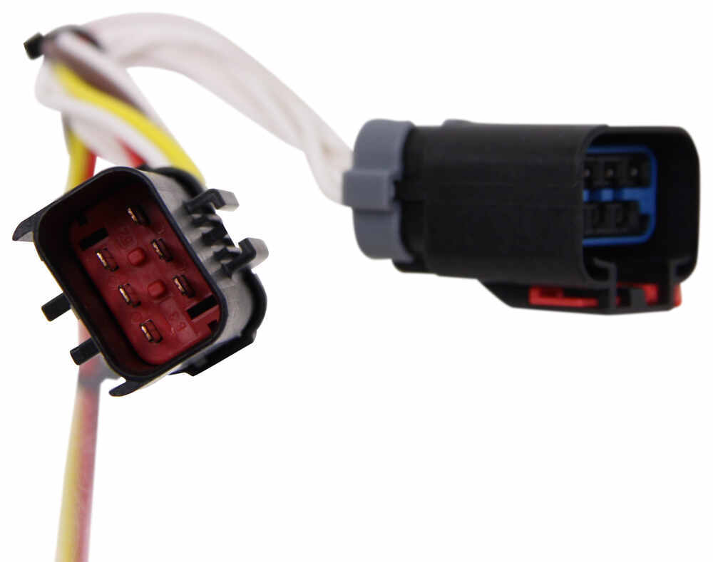 T-One Vehicle Wiring Harness with 4-Pole Flat Trailer ... on