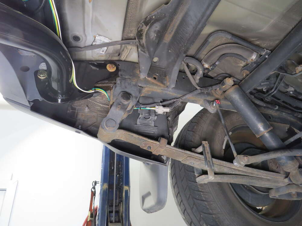 Nissan Xterra Tow Wiring Harness : Nissan xterra custom fit vehicle wiring tekonsha