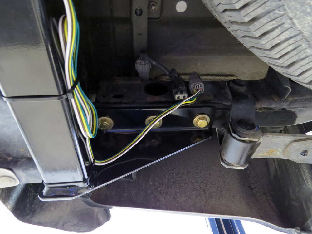 Nissan Frontier Wiring Harness Installation : Nissan frontier custom fit vehicle wiring tekonsha