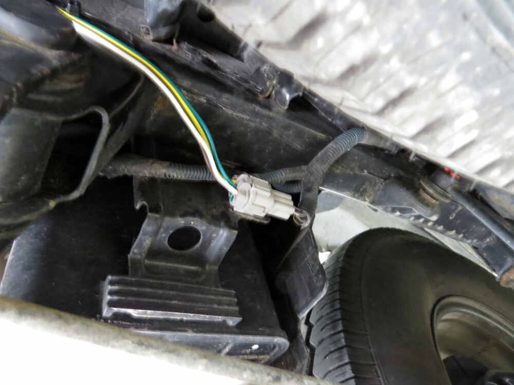 Trailer Wiring Harness For Xterra : Nissan xterra t one vehicle wiring harness with