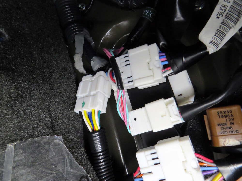 2013 nissan xterra custom fit vehicle wiring tekonsha
