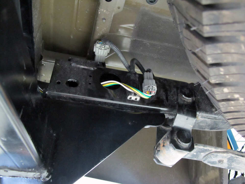 2013 Nissan Frontier Trailer Wiring Harness : Nissan frontier custom fit vehicle wiring tekonsha