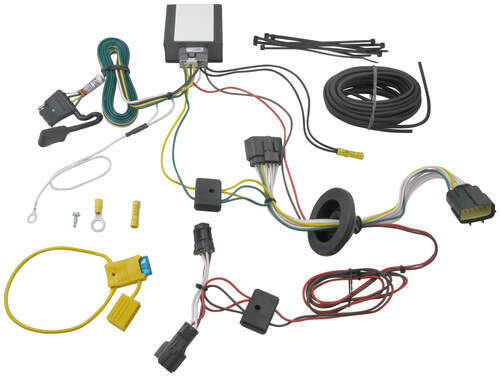 118526_500 t one vehicle wiring harness with 4 pole flat trailer connector 2011 Kia Sorento Interior at readyjetset.co