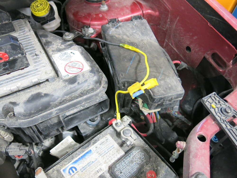 2015 Jeep Compass T One Vehicle Wiring Harness With 4 Pole