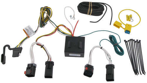 Wiring Harness For Jeep Compass : Jeep compass custom fit vehicle wiring tekonsha