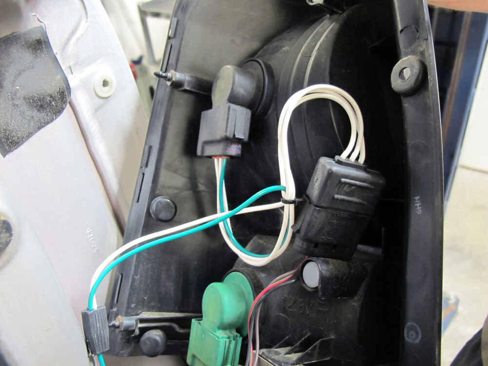 2008 mercury mariner custom fit vehicle wiring tekonsha